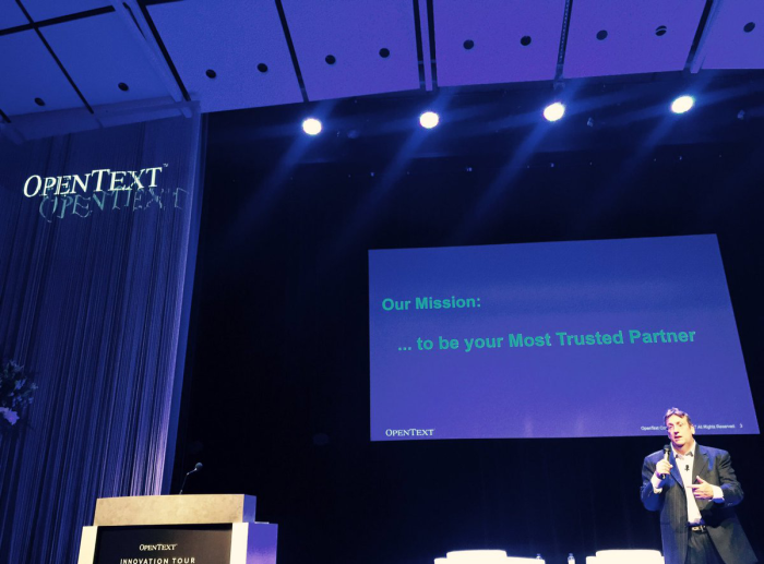 OpenText Innovation Tour Stockholm