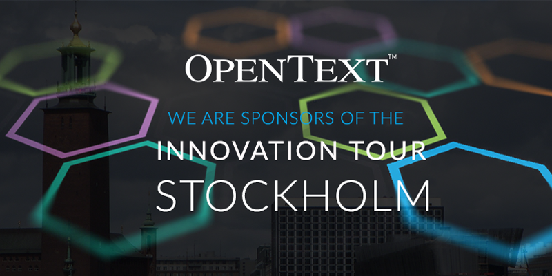 OpenText Innovation Tour Stockholm 2017