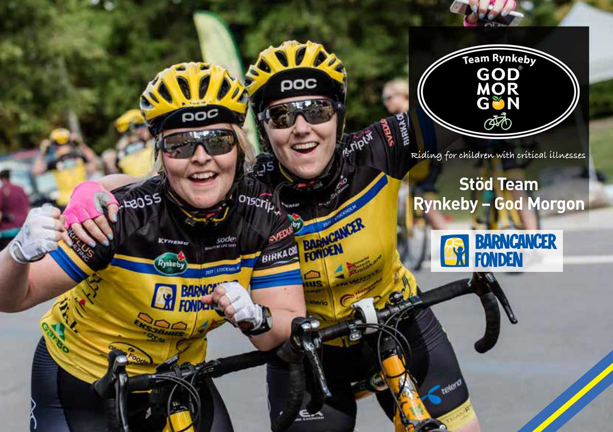 Swedwise supports Team Rynkeby